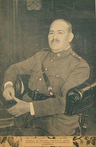 pol. Muere el general Agustin P. Justo
