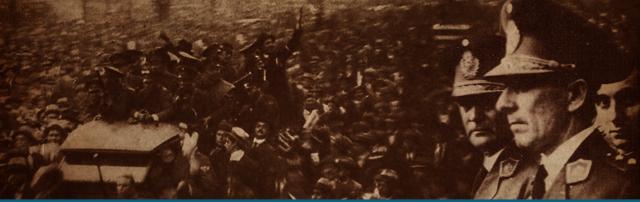 """soc. Se produce """"la revolucion de los coroneles"""" golpe de estado que derroca a Ramon Castillo"""