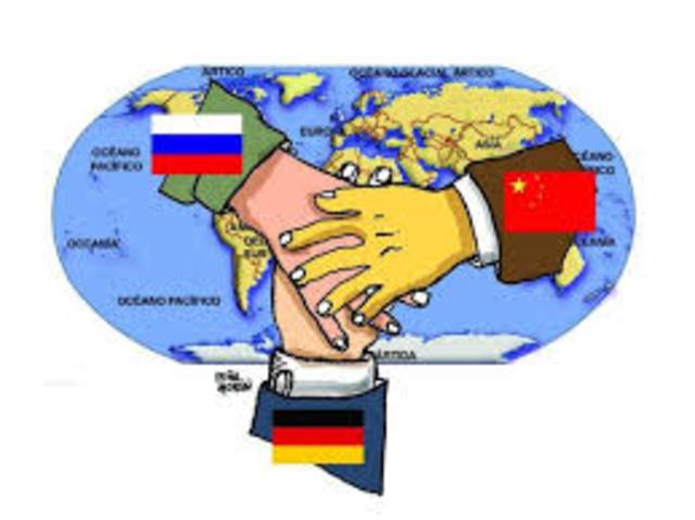 pol. La Argentina rompe relaciones diplomaticas con el Eje
