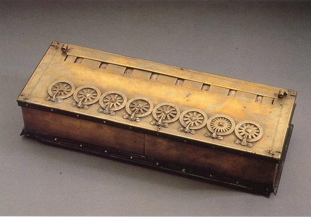 Las primeras calculadoras.