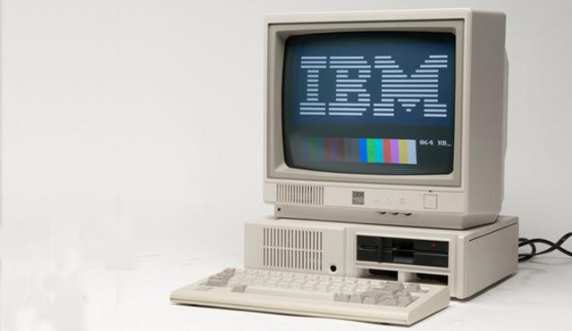 Equipo verde  Llega la PC de IBM