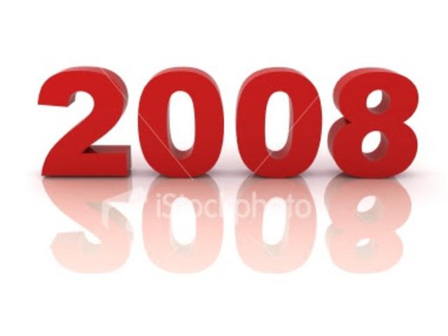 2008 - 2015  primero 2008