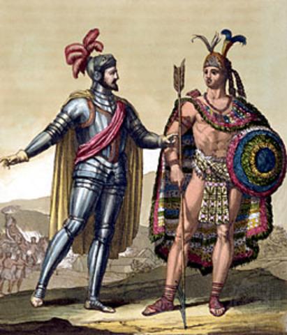 Cortes takes Montezuma hostage