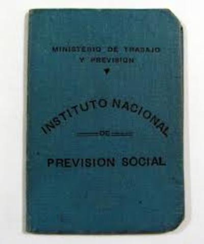 cul. Se crea el fuero judicial laboral y el instituto nacional de prevision social