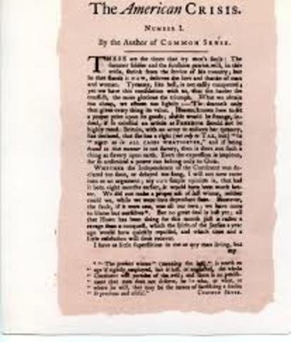 "Thomas Paine's ""The Crisis"""