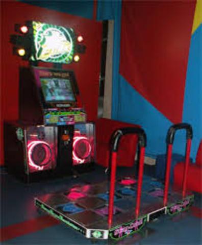 DDR cuts up arcades