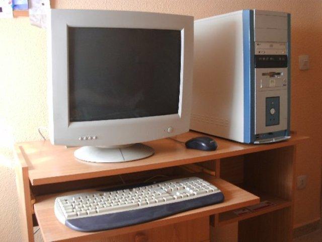 Primer ordenador en casa.