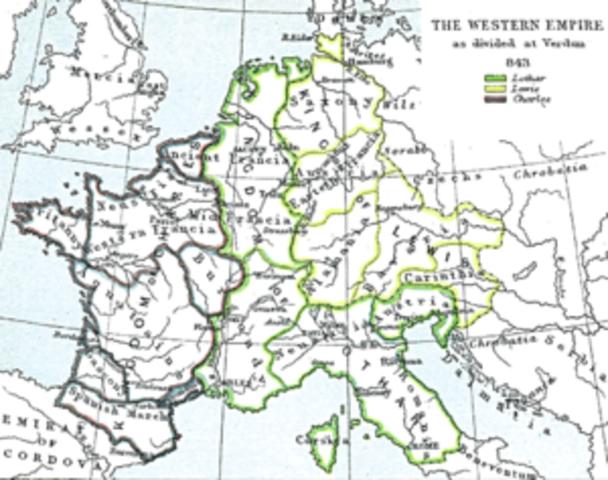 El Tratado de Verdún