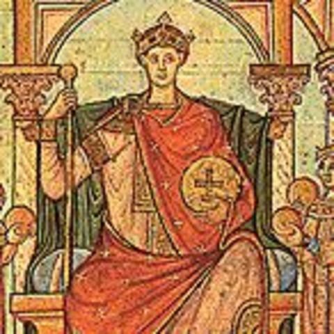 La creación del Sacro Imperio Romano Germanico