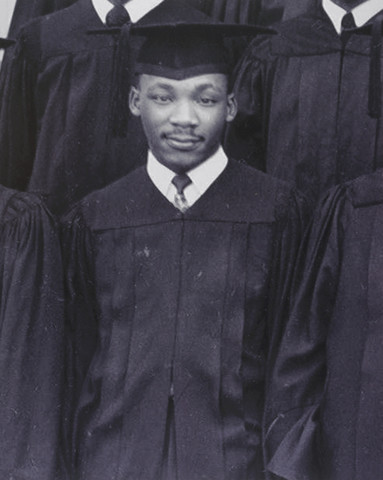 King begins his first semester at Morehouse College at the age of 15.
