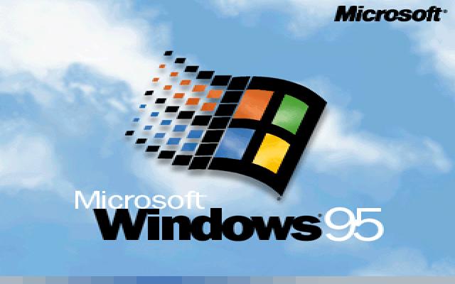 Llegada de Windows 95.