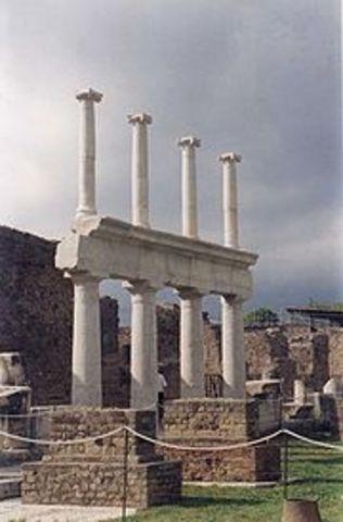 Redescubrimiento de Herculano y Pompeya