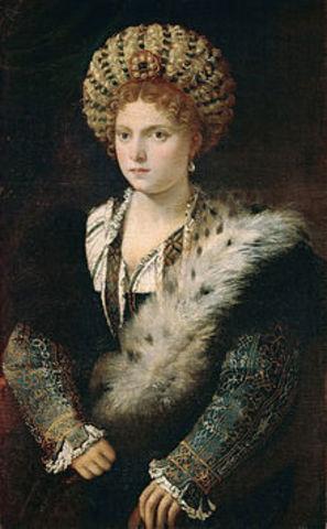 Widowhood of Isabella d'Este