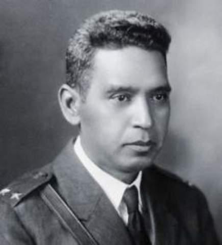 Llega a la presidencia de la Republica Maximiliano Hernández Martínez