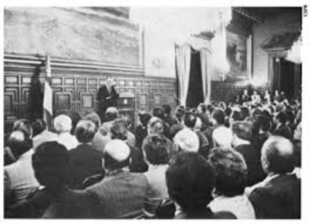 Se elige una nueva Asamblea Constituyente