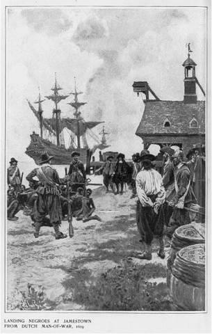 Slaves Arrive To America