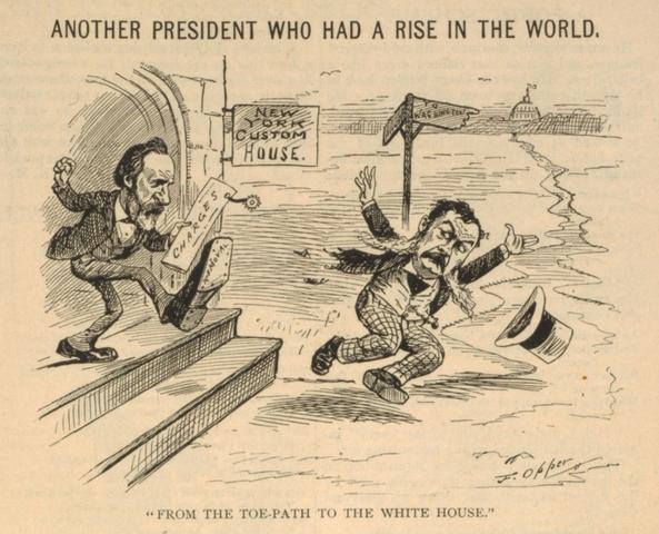 the first cartoon