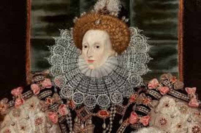 la Reina isabel asciende al trono como reina de Inglaterra