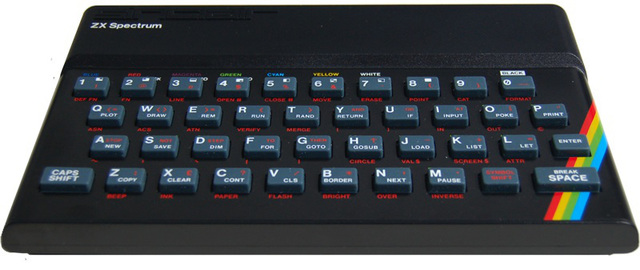 Se inventa la computadora personal, la Sinclair ZXSpectrum