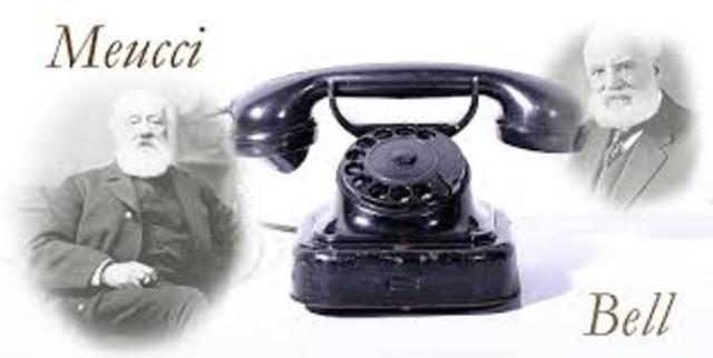 Antonio Meucci, inventa el precursor del teléfono