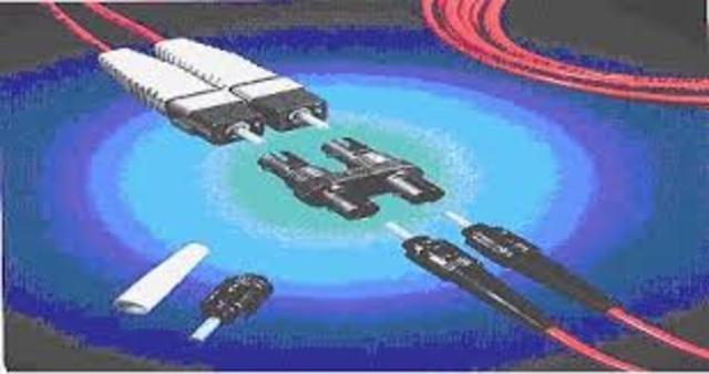 Fibra óptica y rayo laser