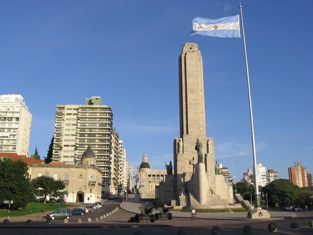 SOC. Monumento a la bandera.