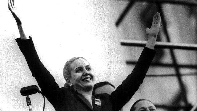 SOC. Muere victima del cancer,Maria Eva Duarte de Peron, Evita.