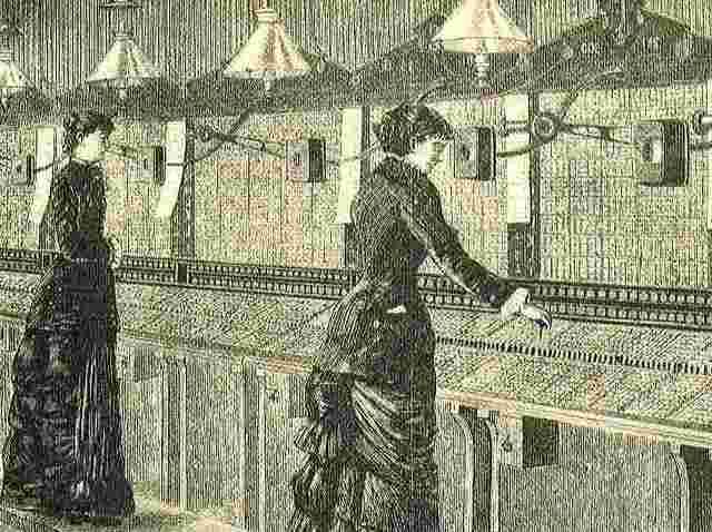 Primer central telefónica manual
