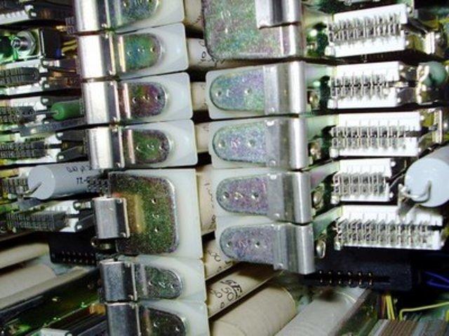 Centrales telefónicas analógicas