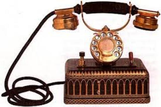 Teléfono de disco..Western Electric Company