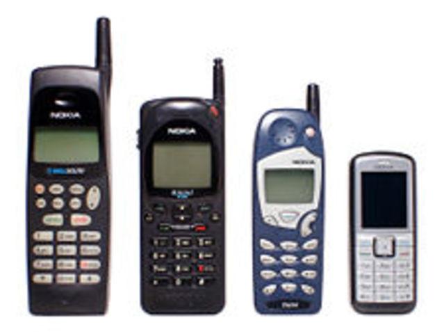 Segunda generación de teléfonos celulares