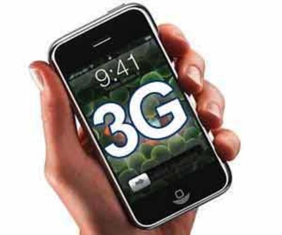 Tercera generación de celulares