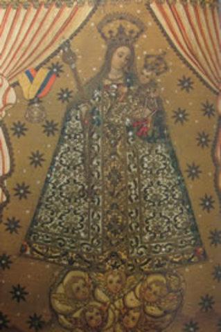 Virgen del Rosario Advocacioó de la bordadita