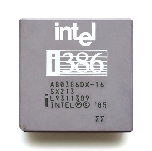 Intel 80386 (i386, 386)