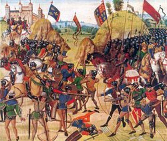 La guerra dels cent anys.