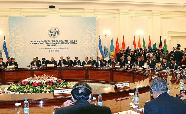 Десятая встреча глав государств-членов ШОС