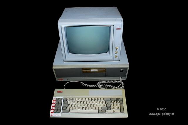 PADRE: Uso del primer ordenador
