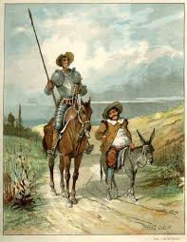 """Cevantes y """"El Quijote"""""""