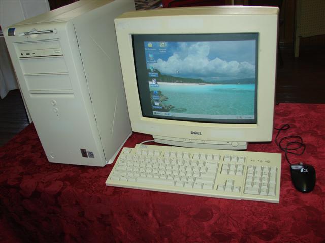PADRE: Primer ordenador propio