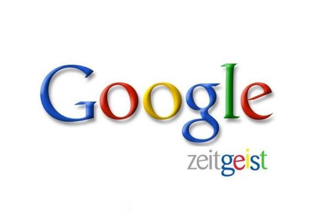 First  Zeitgeist Google