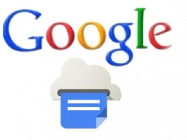 Service launch Google Print