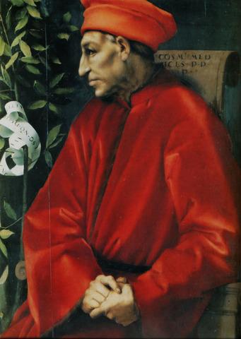 Cosimo de Medici Takes Over as Head of the Bank