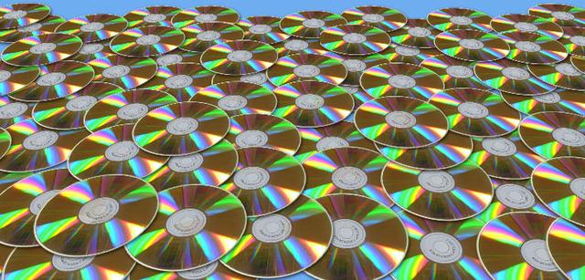 Aparición de los CDs