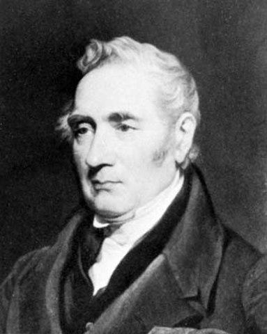Stephenson inventa la locomotora de vapor.