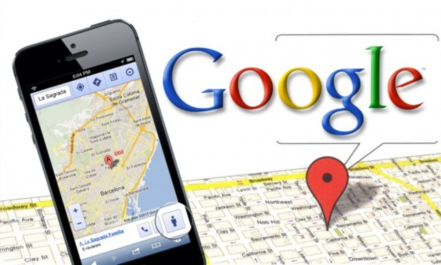Google Maps for mobile phones