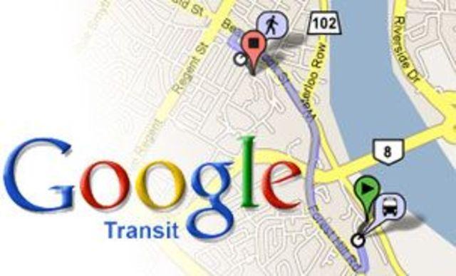 Launch of Google Transit