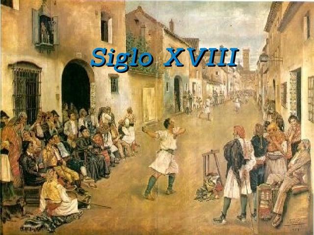 Comienzo del S. XVIII
