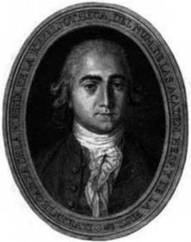 Nacimiento de Vicente Antonio García de la Huerta