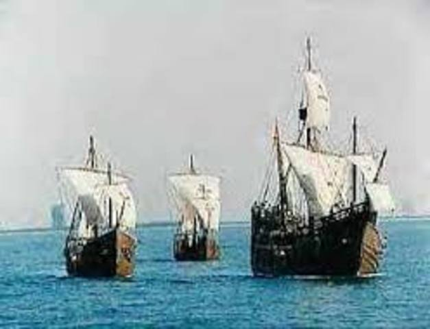 Colombus' First Voyage