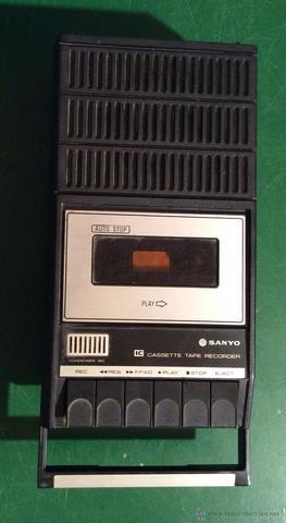 Primer radiocasette de mi madre